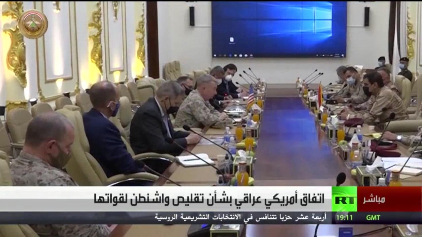 اتفاق أمريكي عراقي بشأن تقليص واشنطن لقواتها