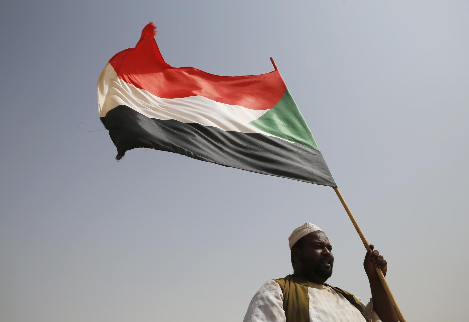 علم السودان.