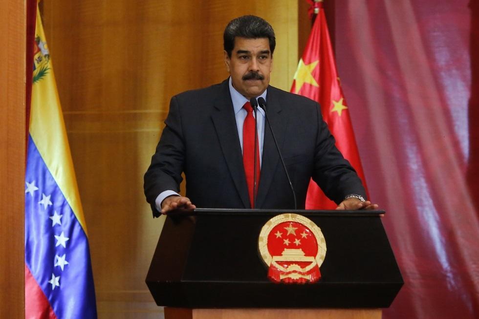الرئيس الفنزويلي يجري أول رحلة خارجية منذ ملاحقته قضائيا في الولايات المتحدة