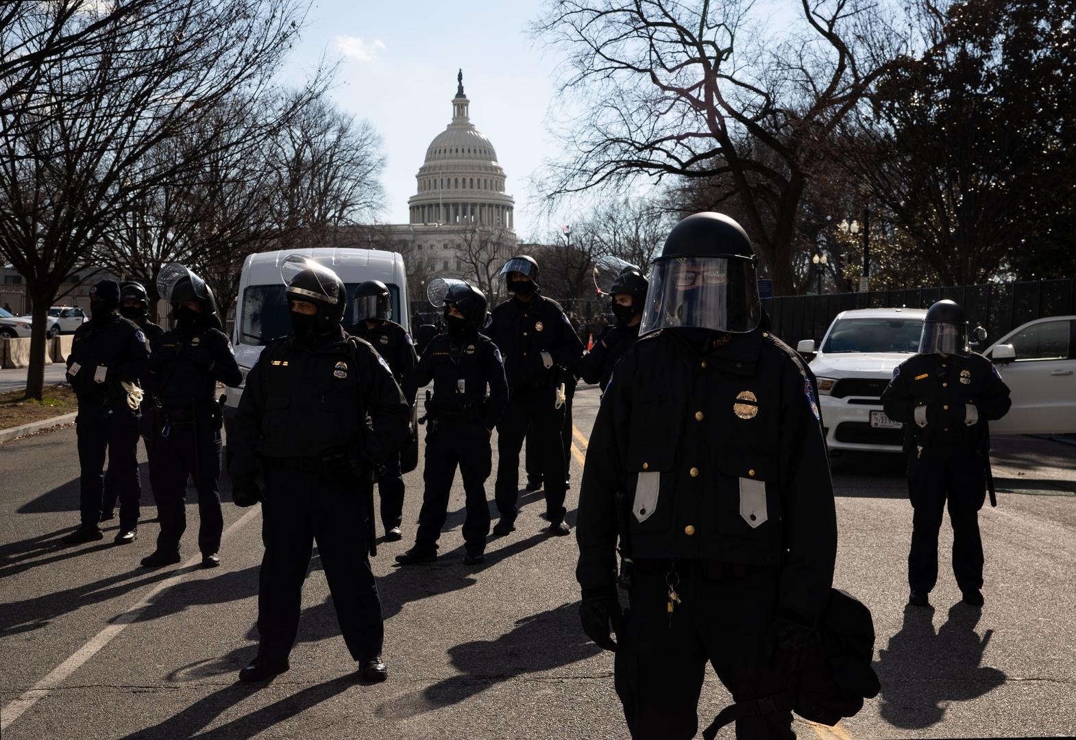 الولايات المتحدة.. اعتقال 4 أشخاص بمحيط مبنى الكابيتول في واشنطن