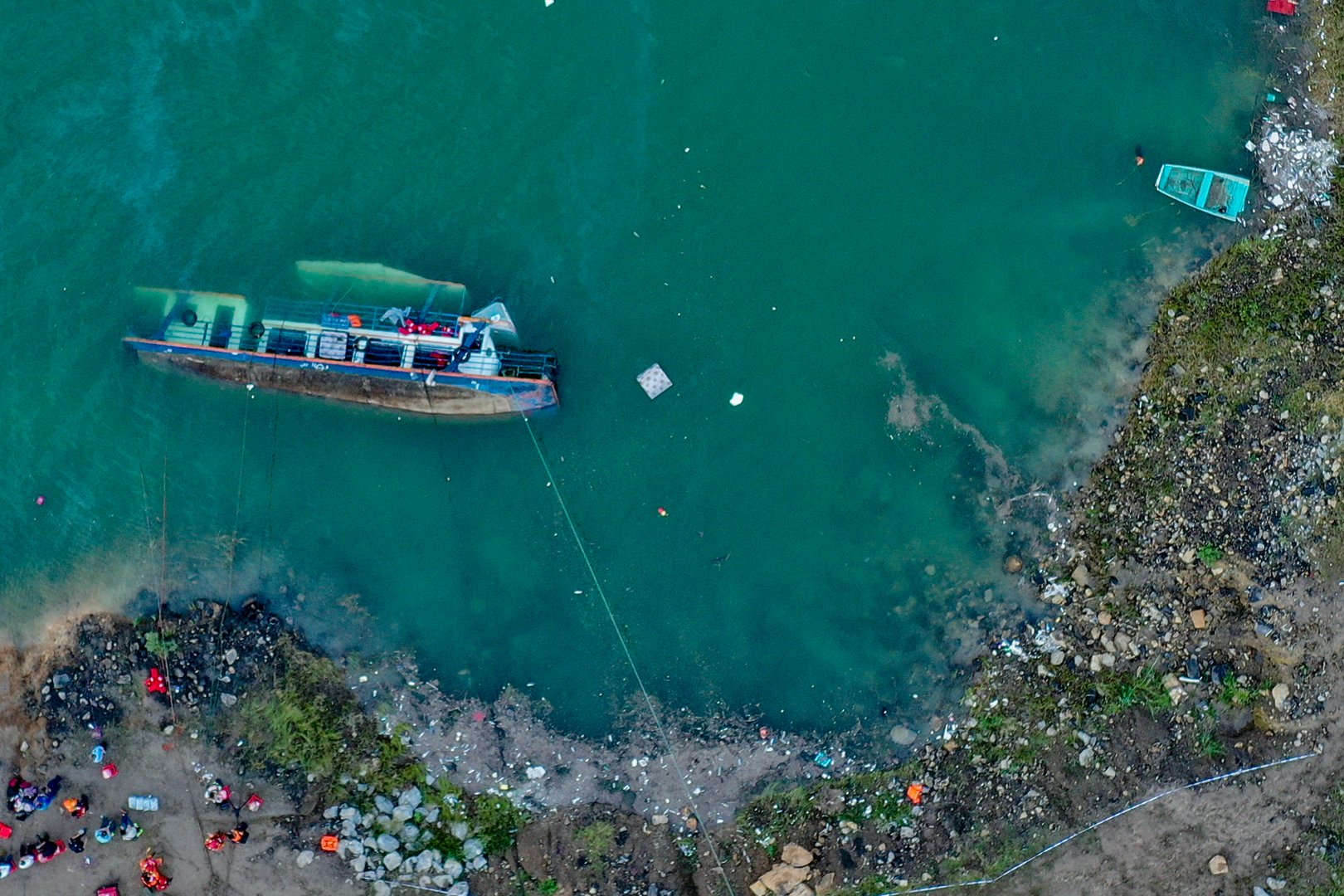 وسائل إعلام: مقتل 10 أشخاص جراء انقلاب سفينة ركاب بجنوب غرب الصين