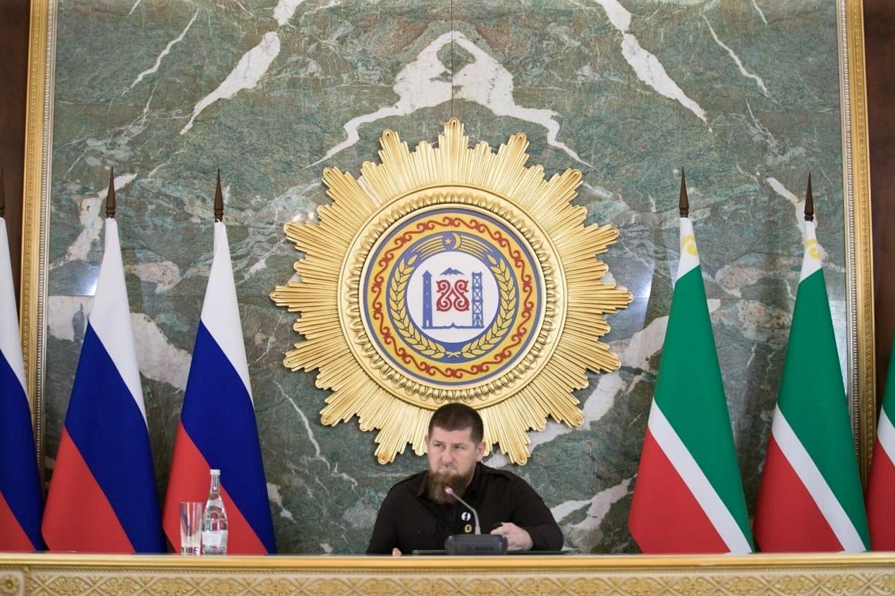الرئيس الحالي لجمهورية الشيشان الروسية، رمضان قديروف.