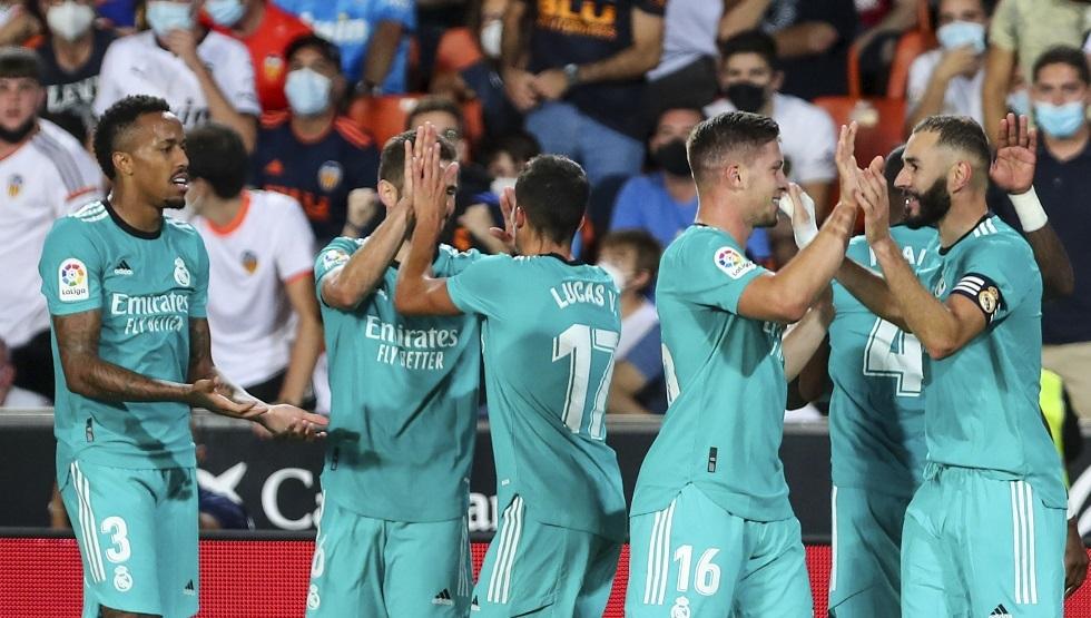 ريال مدريد يروض