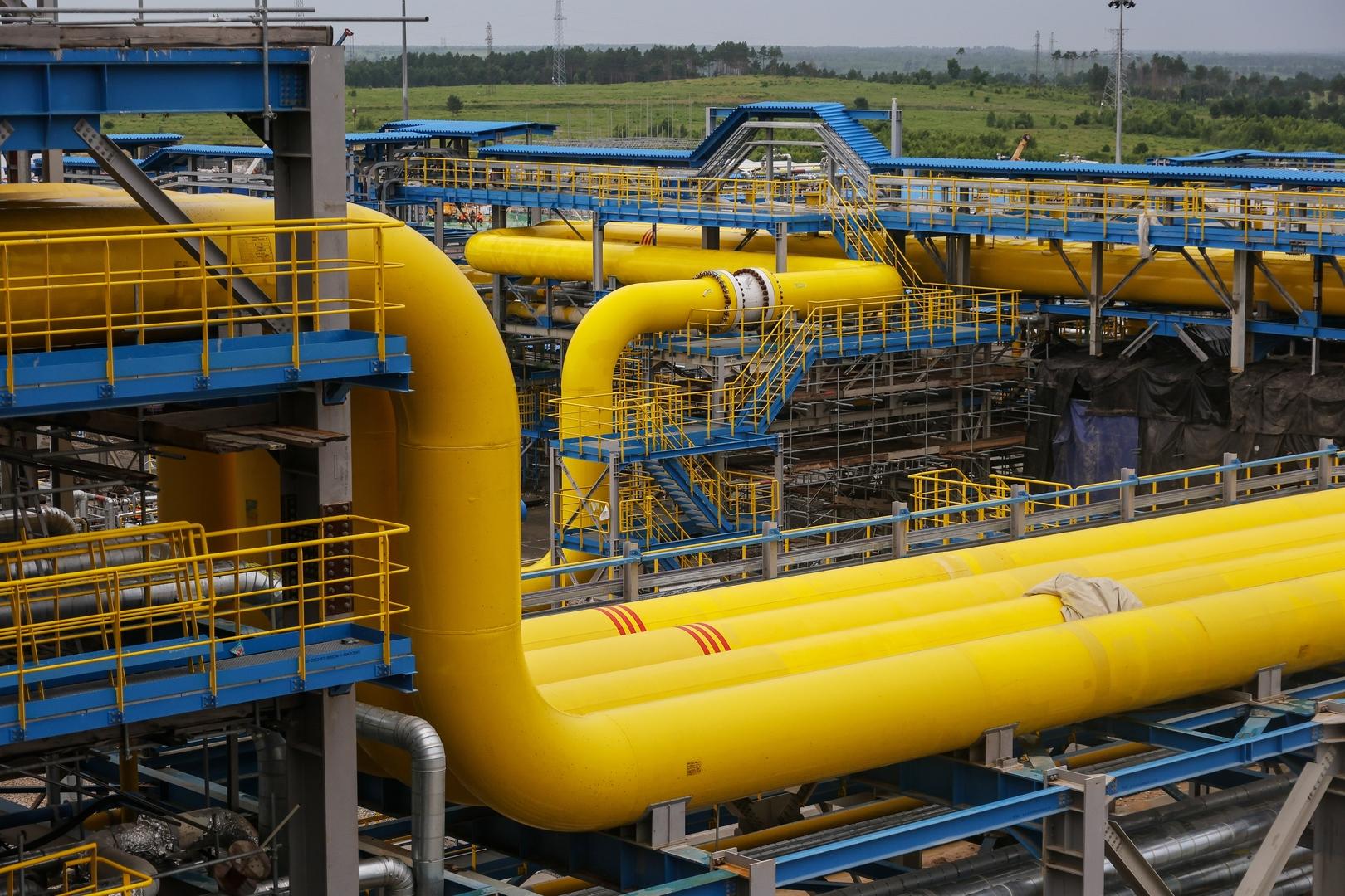 تضاعف صادرات الغاز من روسيا إلى الصين!