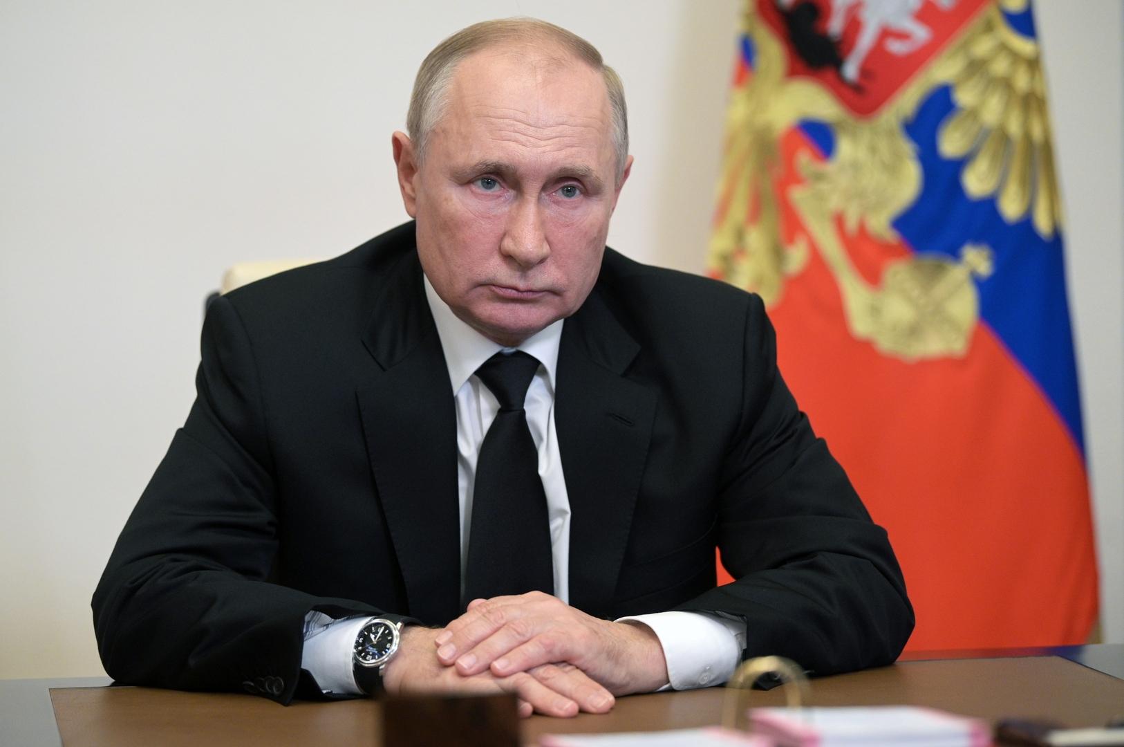 بوتين يشكر المواطنين الروس على