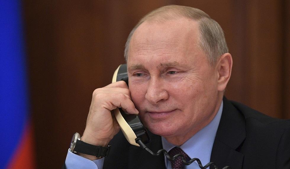 بوتين ونظيره الكازاخستاني يبحثان التطورات الإقليمية