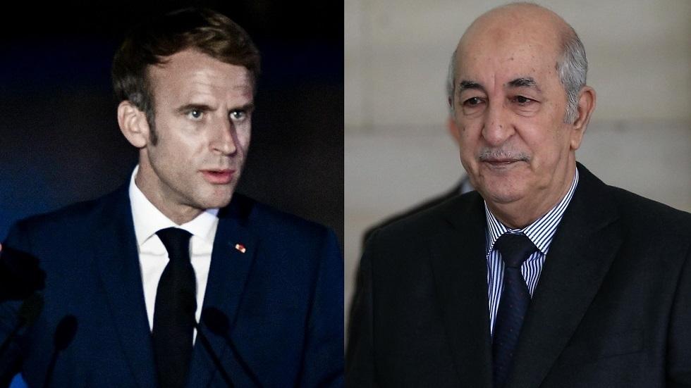ماكرون وتبون يبحثان الأوضاع في ليبيا والساحل