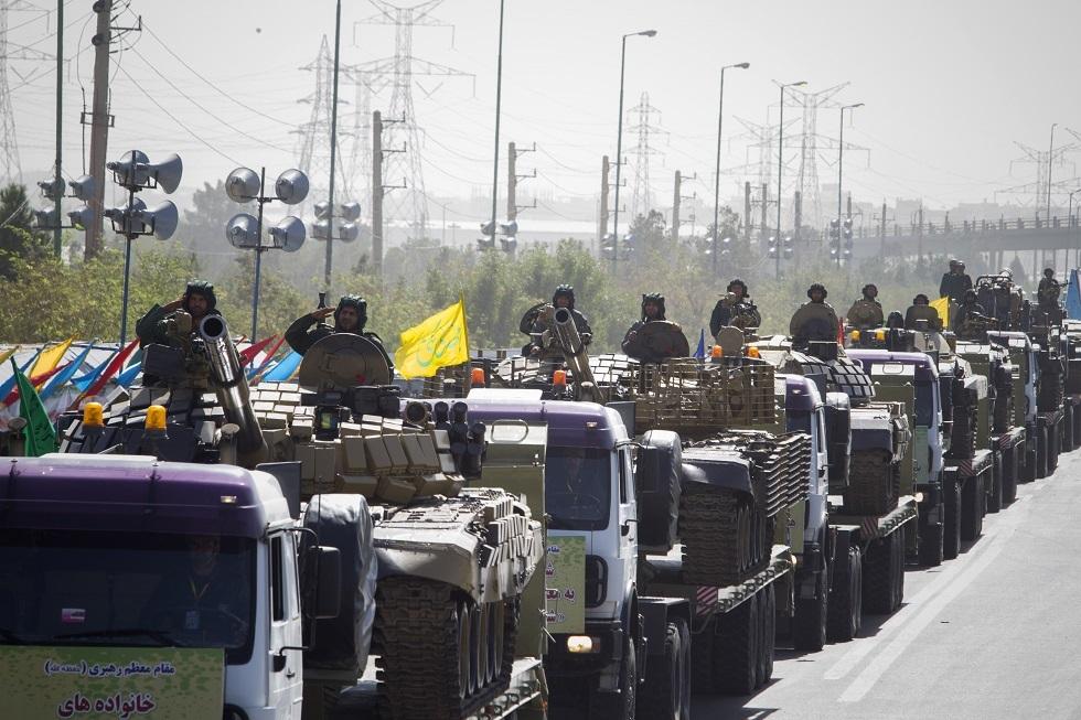 الحرس الثوري الإيراني يعلن تدمير مقرات لـ