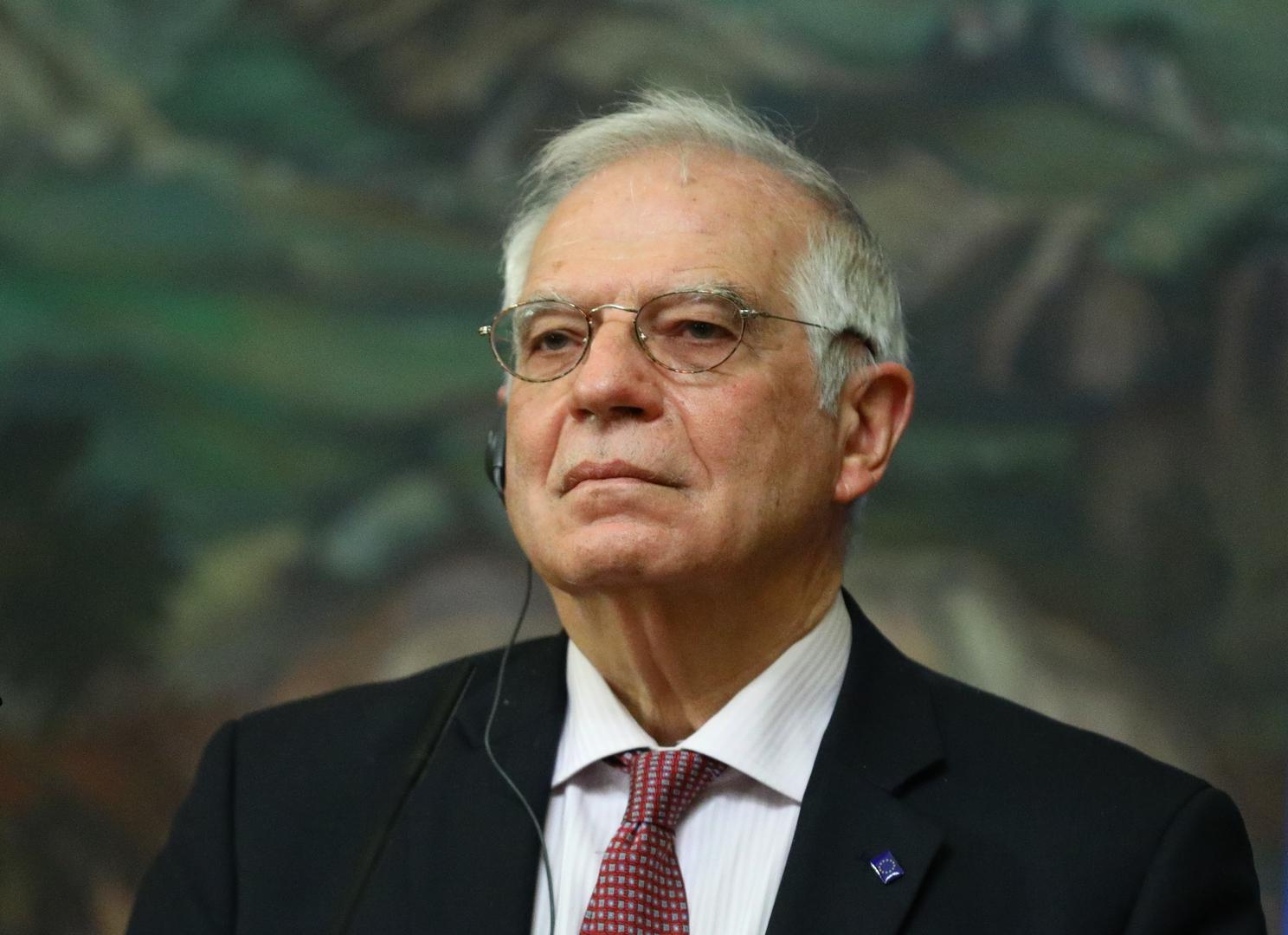 مسؤول السياسية الخارجية للاتحاد الأوروبي جوزيب بوريل