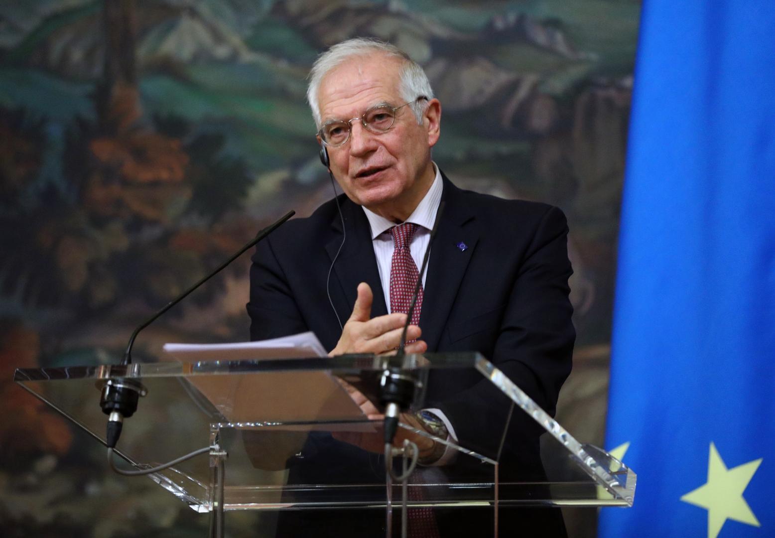 مسؤول السياسة الخارجية للاتحاد الأوروبي جوزيب بوريل