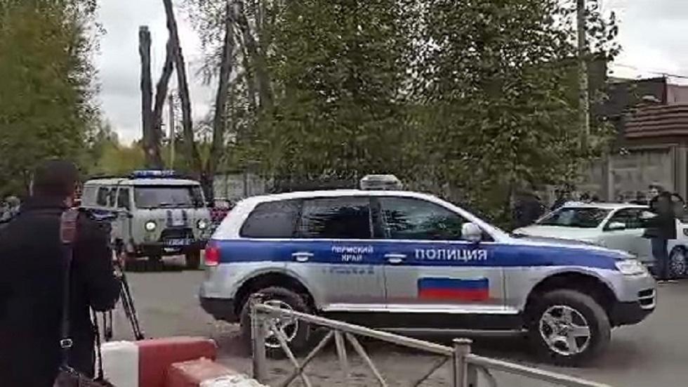 روسيا.. شهادة آخر شخص التقى منفذ الهجوم على جامعة بيرم وهو في طريقه إلى مسرح الجريمة