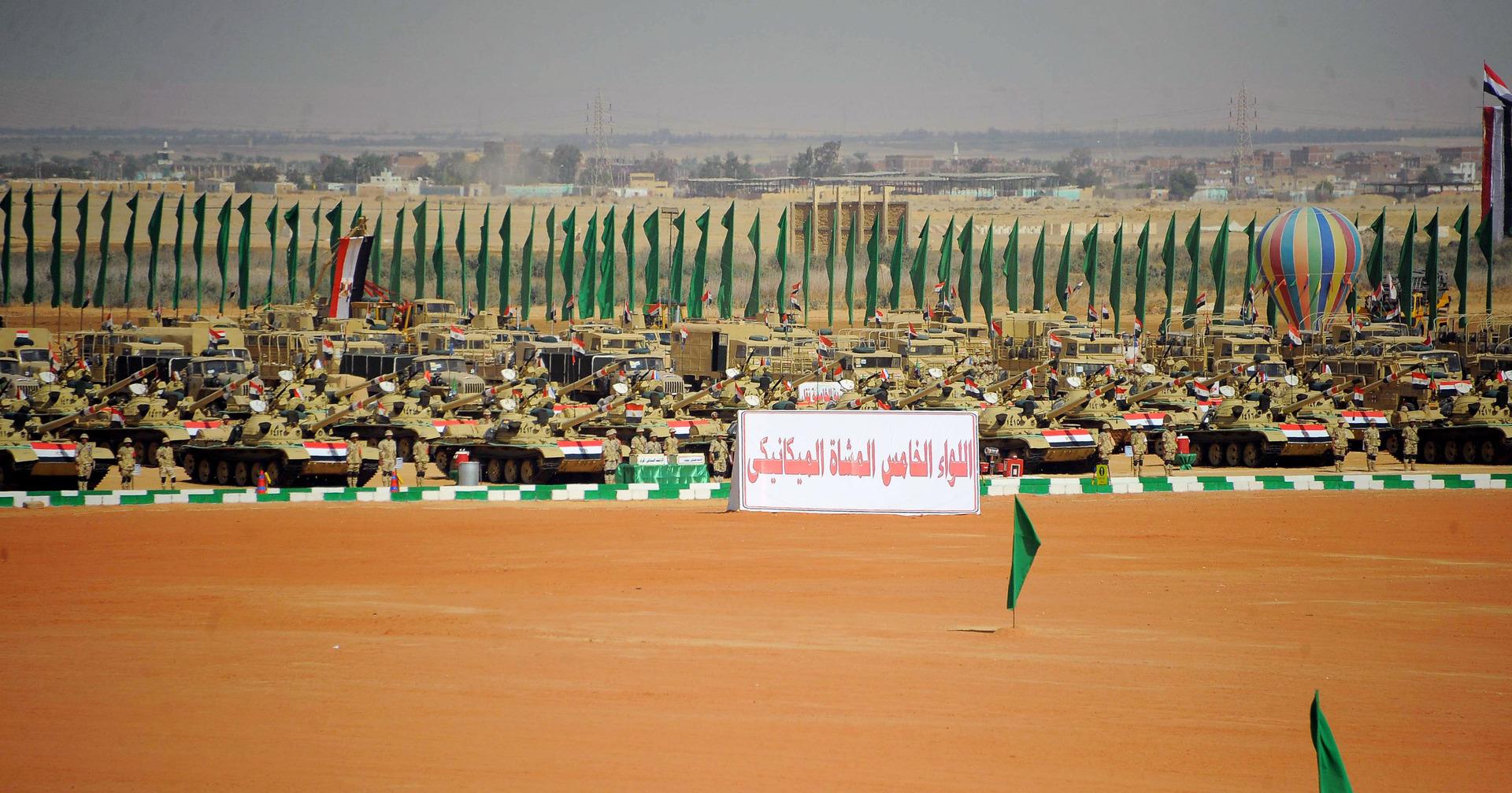 الهيئة الهندسية للجيش المصري تعلن عن مشروعات في سيناء بقيمة تقارب نصف ترليون جنيه