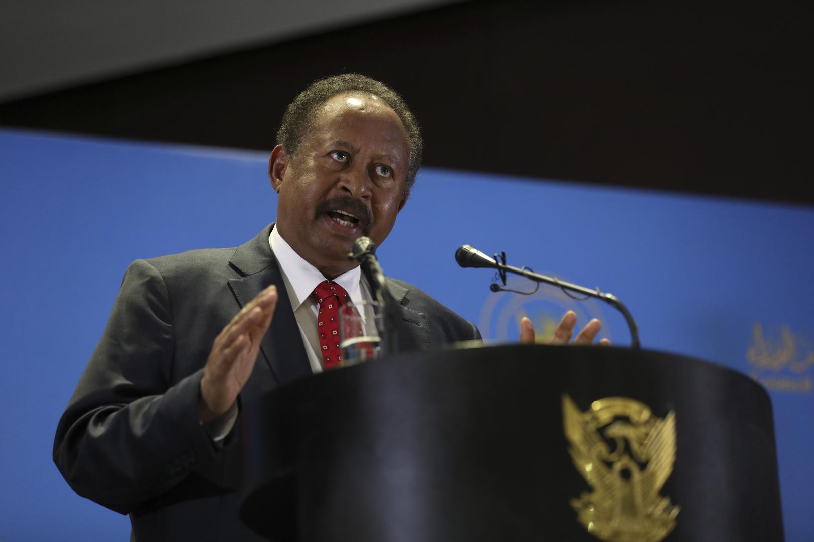حمدوك تعليقا على محاولة الانقلاب في السودان:  لجنة ستصدر قرارات سريعة لتفكيك نظام الثلاثين من يونيو