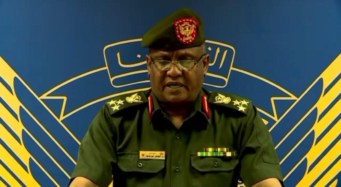 بيان للجيش السوداني حول محاولة الانقلاب في البلاد