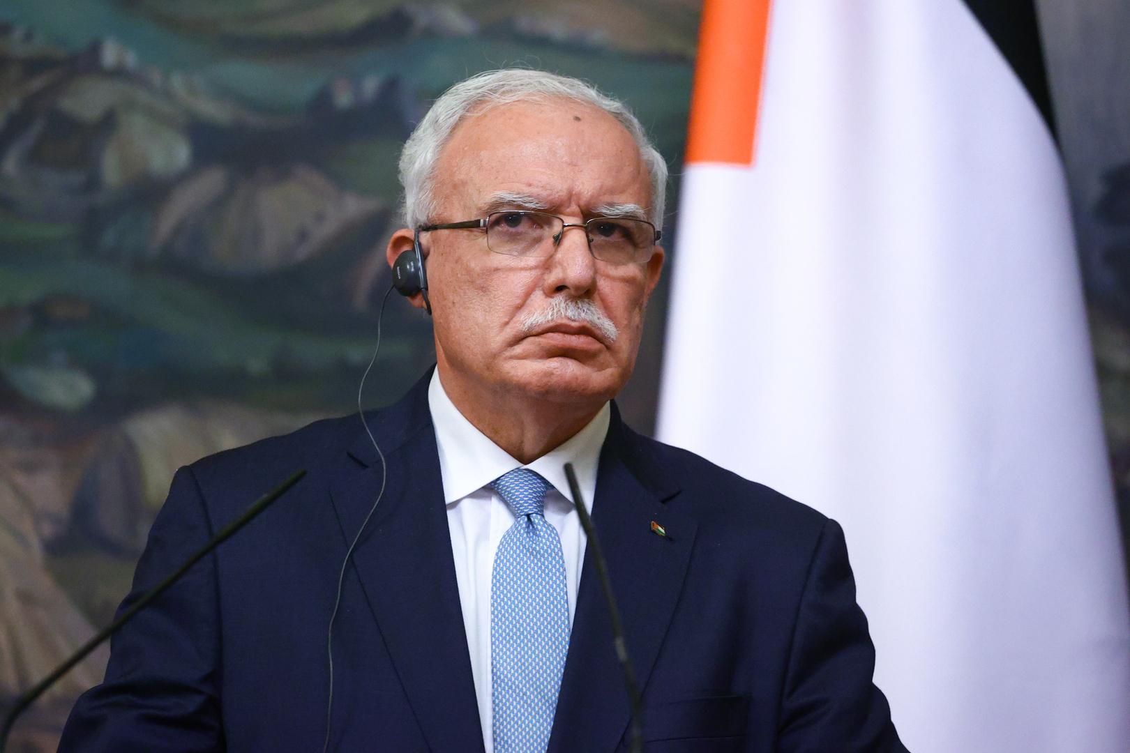المالكي يقدم إحاطة لاجتماع وزراء الخارجية العرب حول تطورات الأوضاع في فلسطين