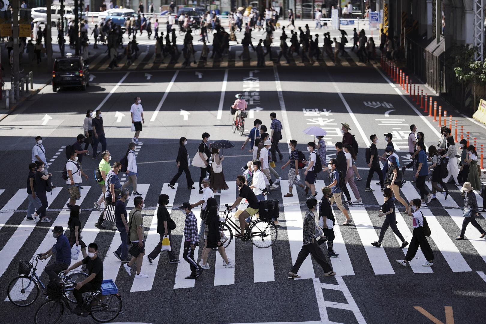اليابان تبحث في رفع حالة الطوارئ المتعلقة بمكافحة كورونا في نهاية سبتمبر
