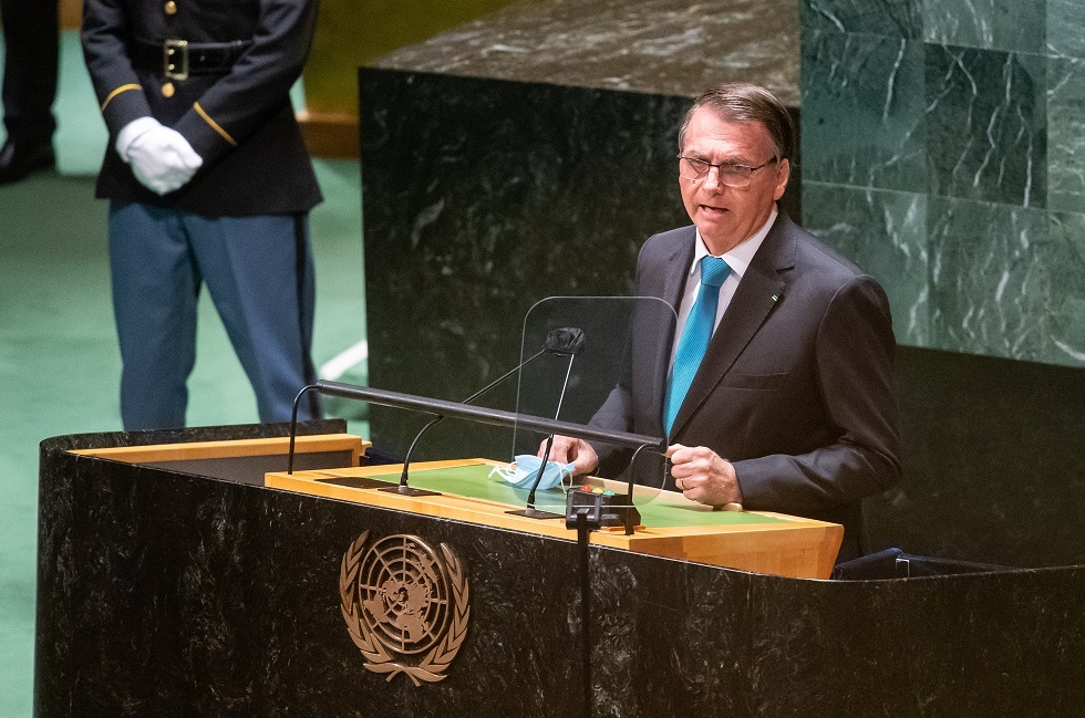رئيس البرازيل يعلن أمام الأمم المتحدة رفضه شهادة لقاح كورونا