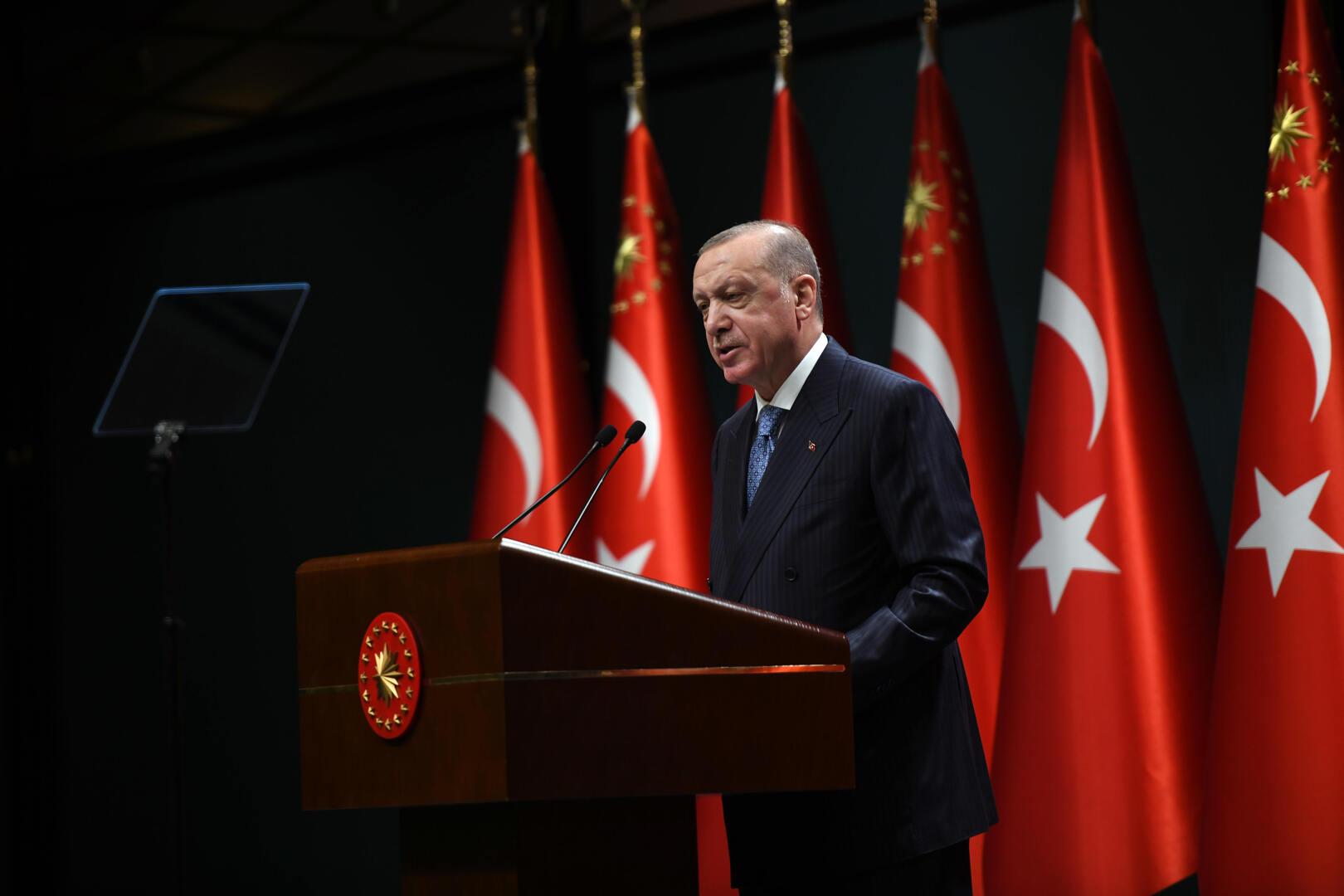 أردوغان: يجب الحفاظ على وحدة أراضي أوكرانيا بما فيها القرم