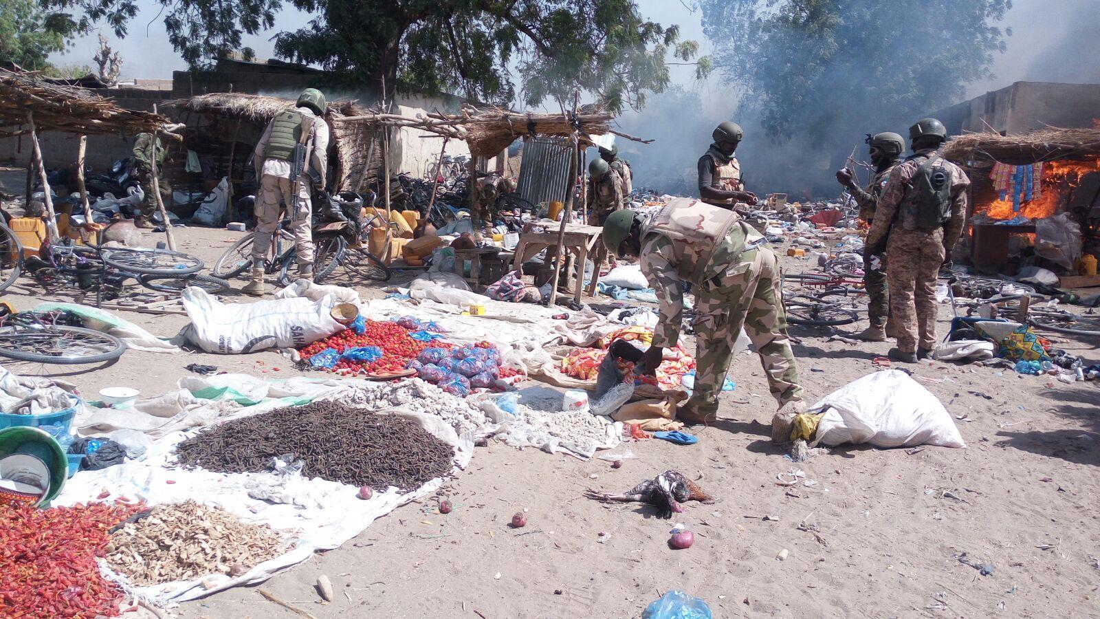هجوم لبوكو حرام على قرية في إفريقيا (أرشيف)