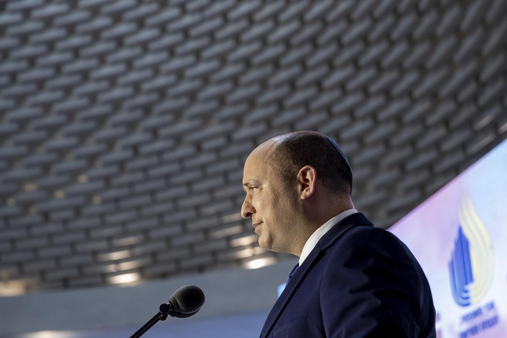 رئيس الوزراء الإسرائيلي نفتالي بينيت