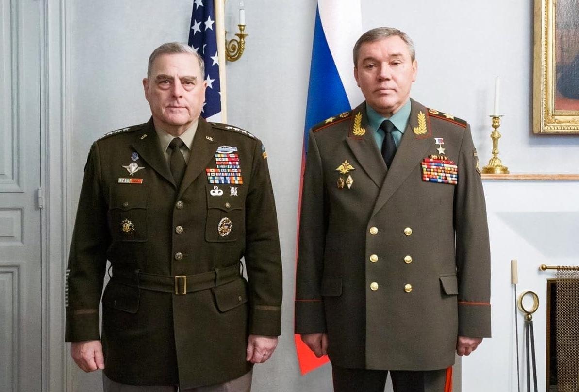 رئيسا الأركان الروسي والأمريكي يبحثان في فنلندا