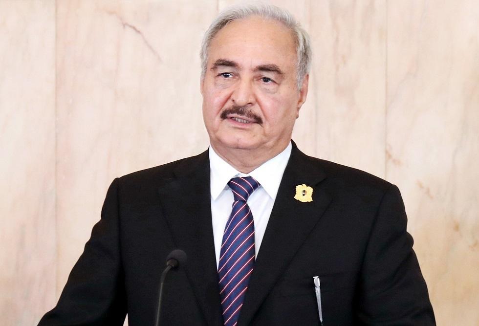 مراسلنا: حفتر يكلف رئيس الأركان العامة بمهام القائد العام للجيش الليبي لثلاثة أشهر