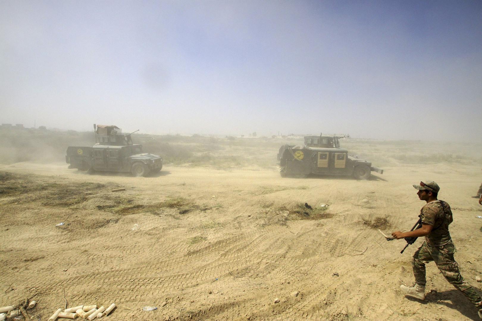 طائرات عراقية حربية تستهدف مواقع تابعة لـ