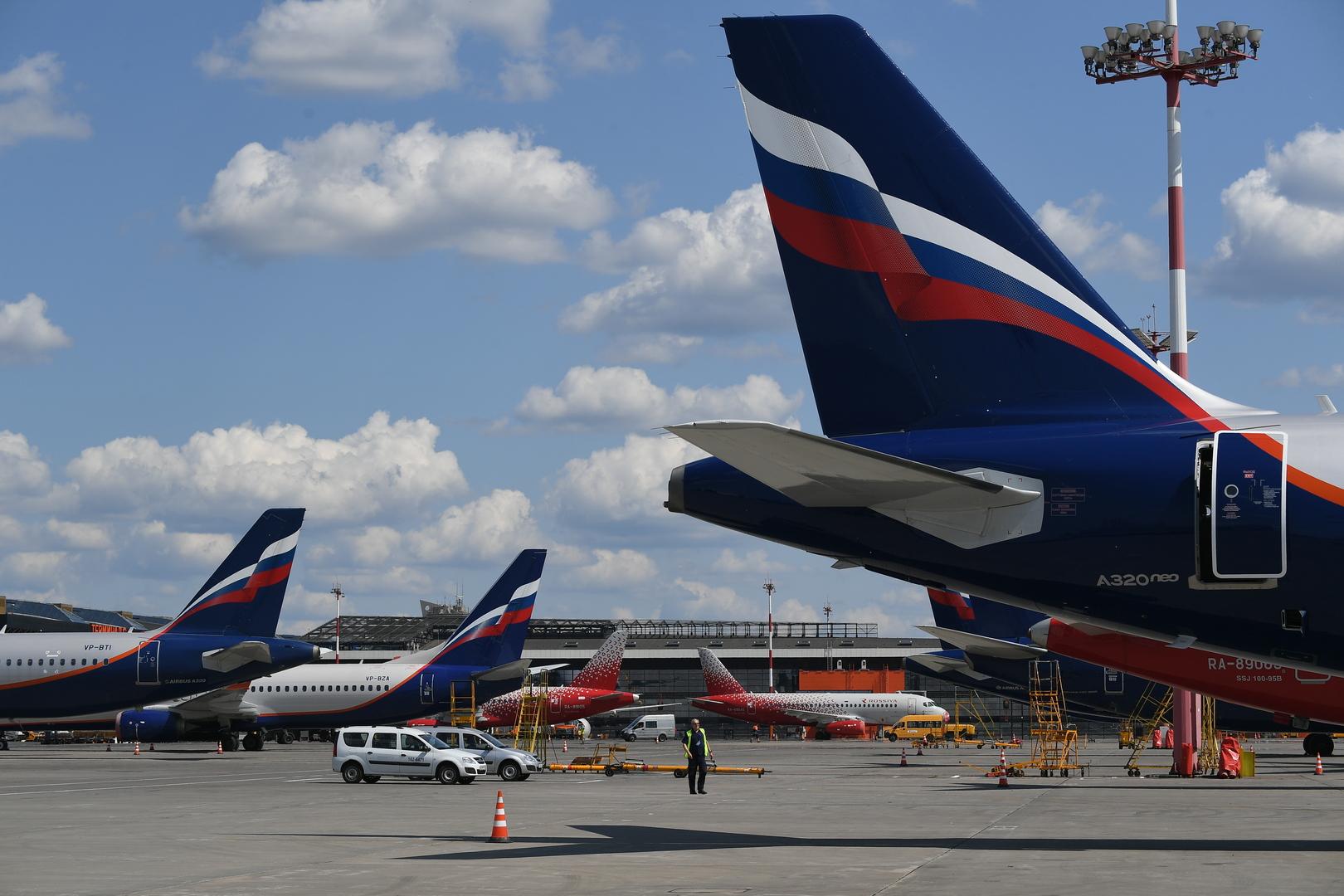 روسيا تستأنف حركة الطيران مع 5 دول