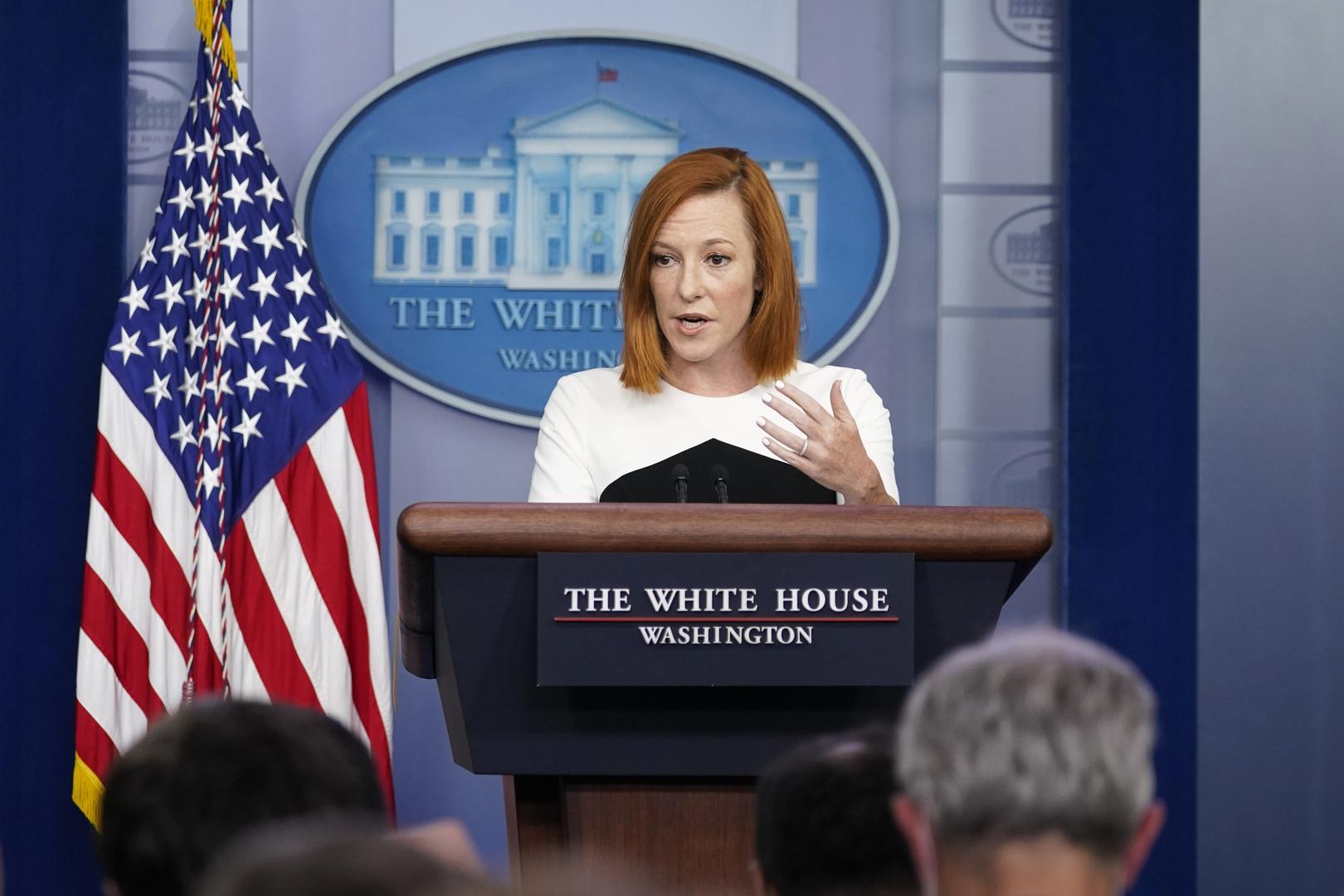البيت الأبيض يرد على