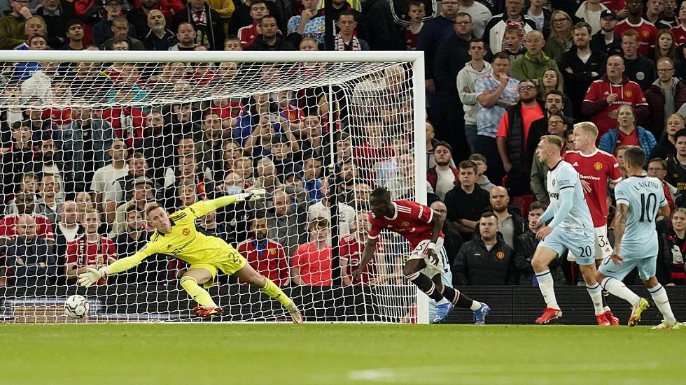 وست هام يقصي مانشستر يونايتد من كأس الرابطة الإنجليزية (فيديو)
