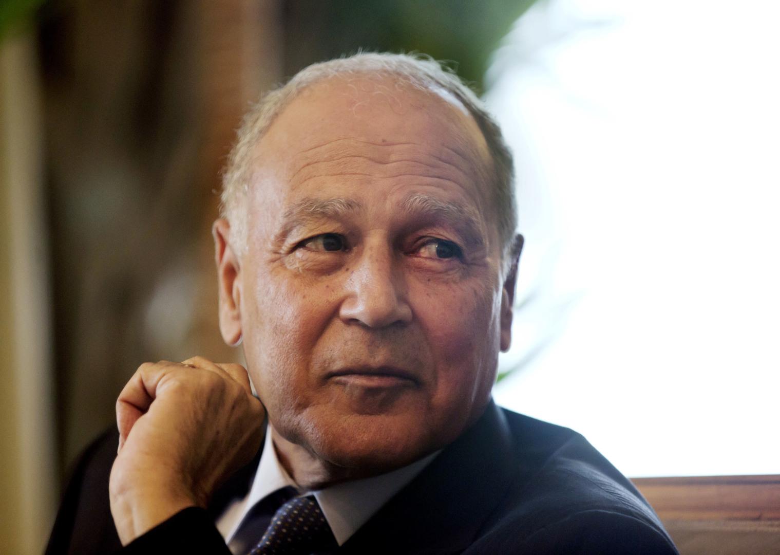 الأمين العام لجامعة الدول العربية.