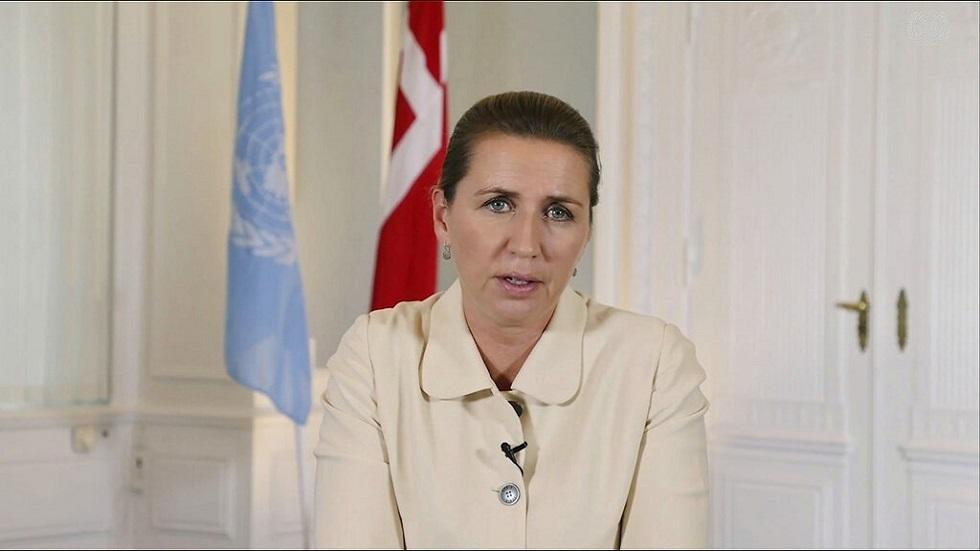 رئيسة وزراء الدنمارك ميتي فريدريكسن