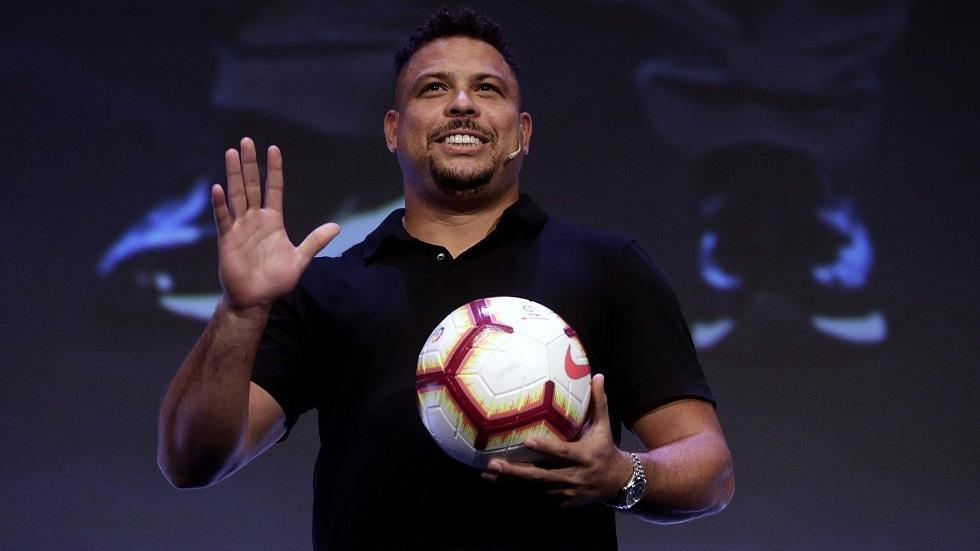 البرازيلي رونالدو يدافع عن مشروع دوري السوبر الأوروبي