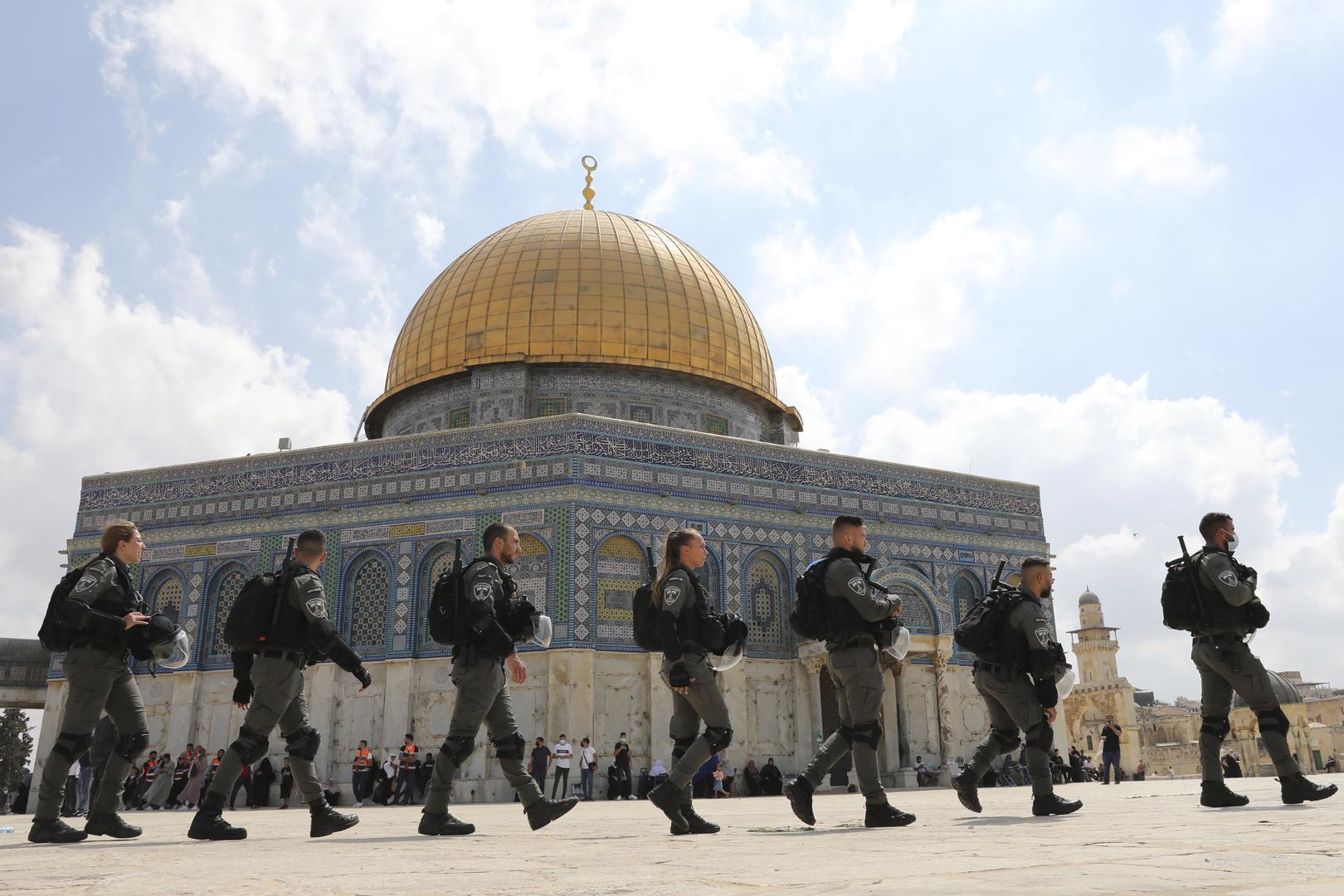 الأردن يطالب بالوقف الفوري للانتهاكات الإسرائيلية في المسجد الأقصى