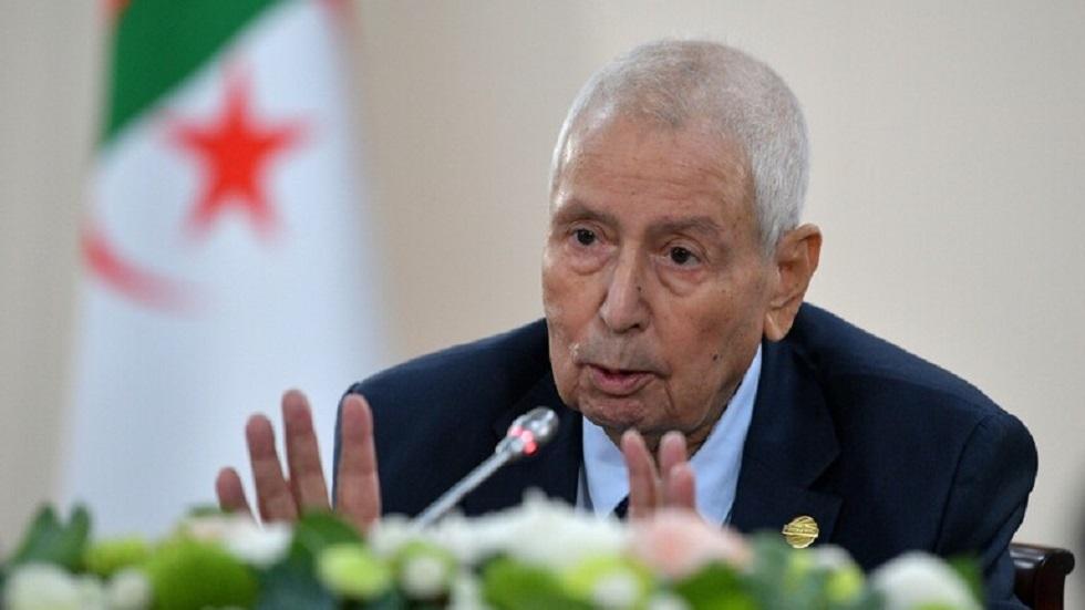 الرئيس الجزائري السابق، عبد القادر بن صالح