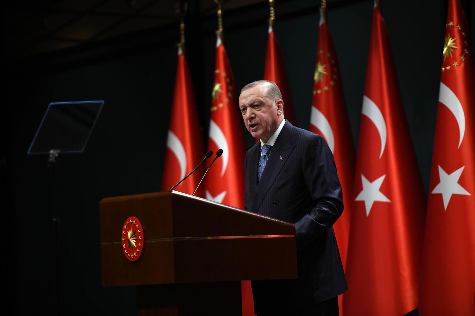 وسائل إعلام تركية: أردوغان يؤكد استعداد أنقرة للعمل مع