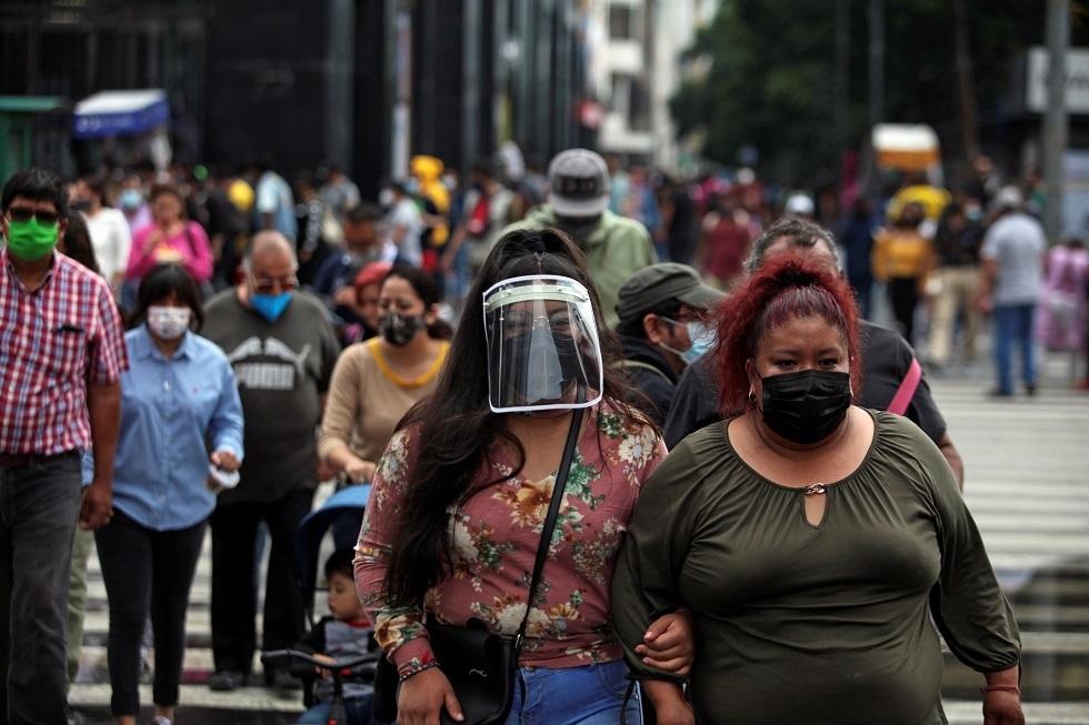 المكسيك تسجل 748 وفاة و11808 حالات إصابة جديدة بكوفيد-19