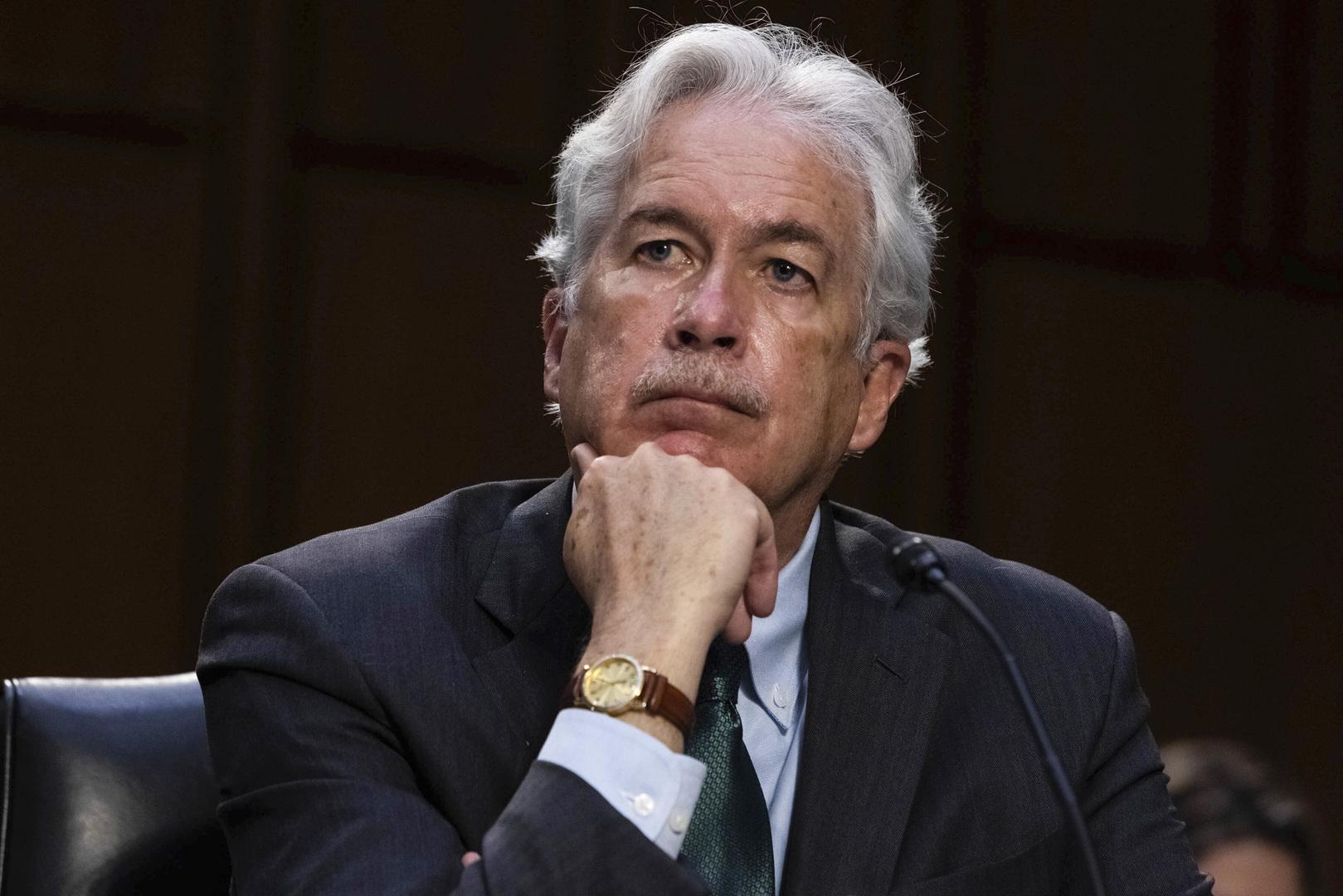 مدير وكالة المخابرات المركزية الأمريكية وليام بيرنز