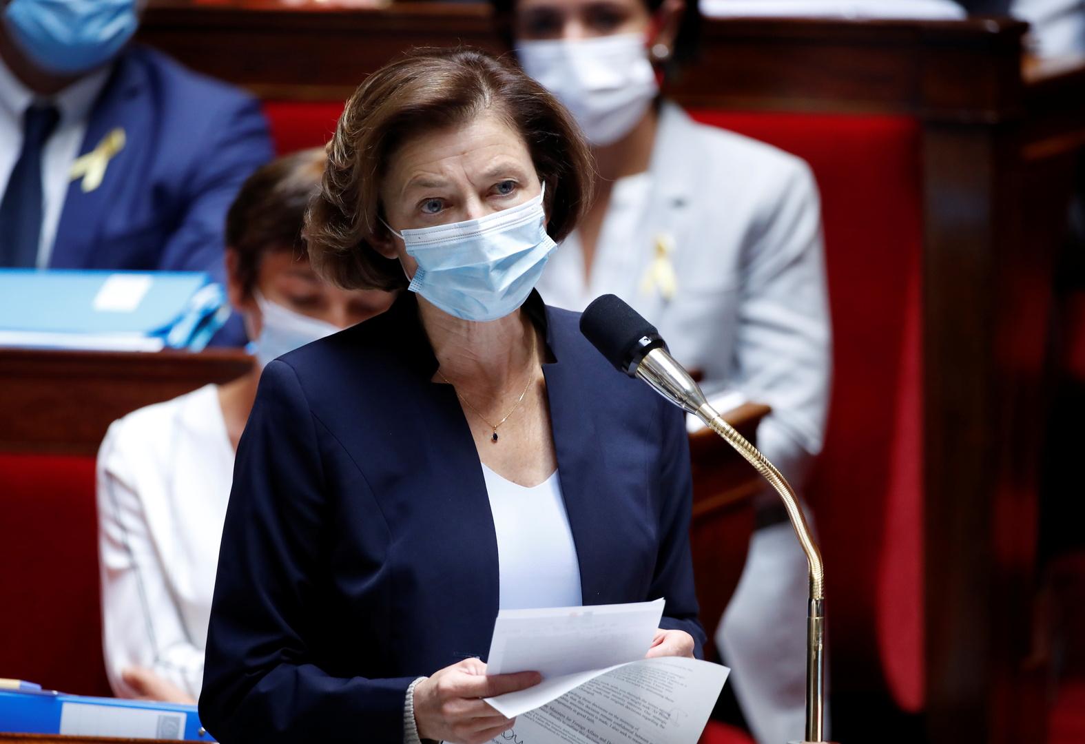 وزيرة الجيوش الفرنسية فلورونس بارلي