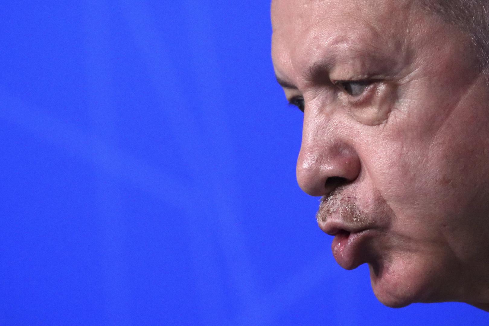 أردوغان: الحكومة السورية تشكل خطرا على تركيا ونتوقع من روسيا نهجا مختلفا