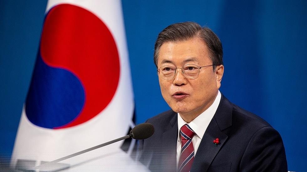 رئيس كوريا الجنوبية مون جيه إن
