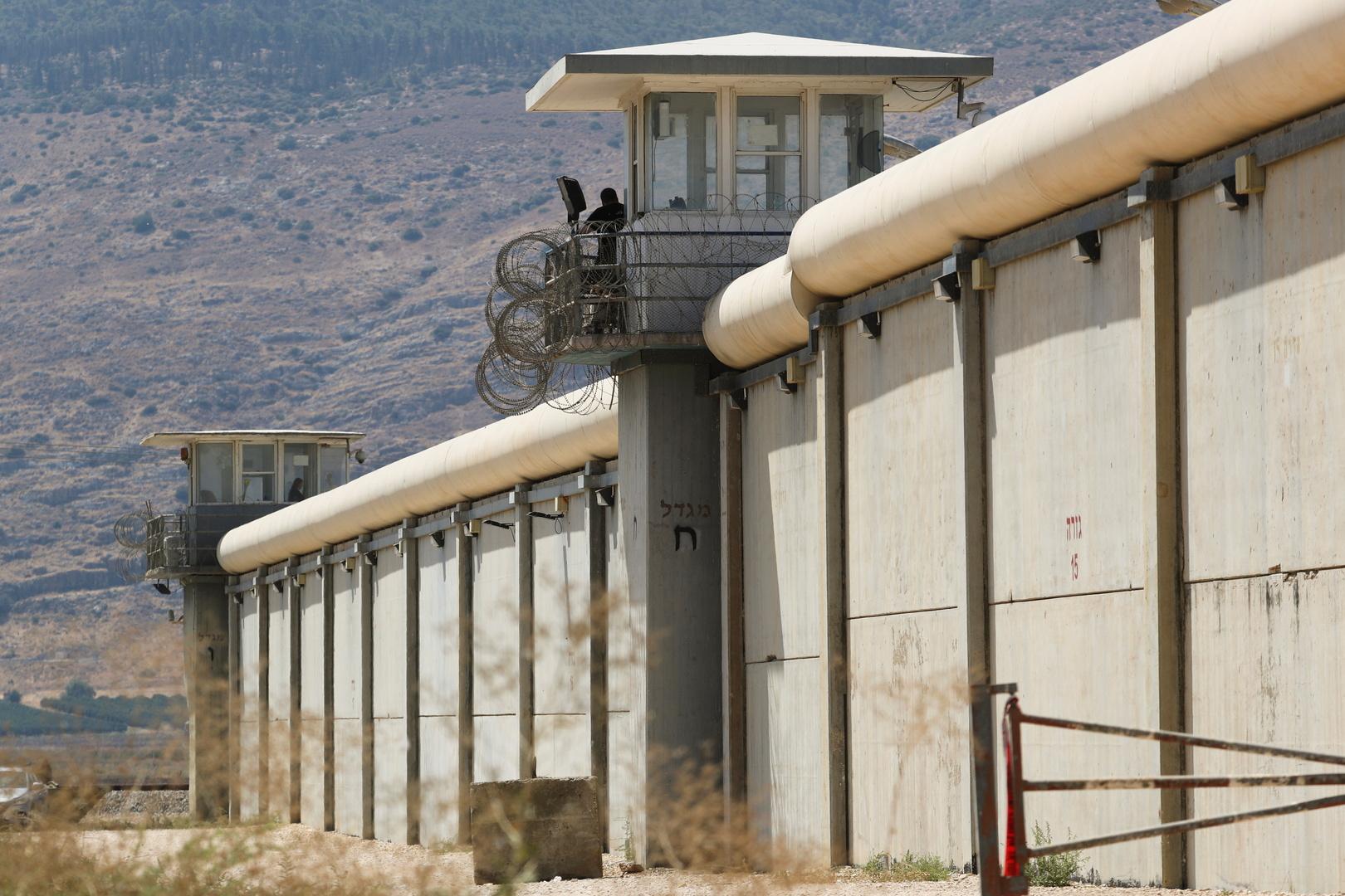 إسرائيل تقر تعديلات أمنية في سجن