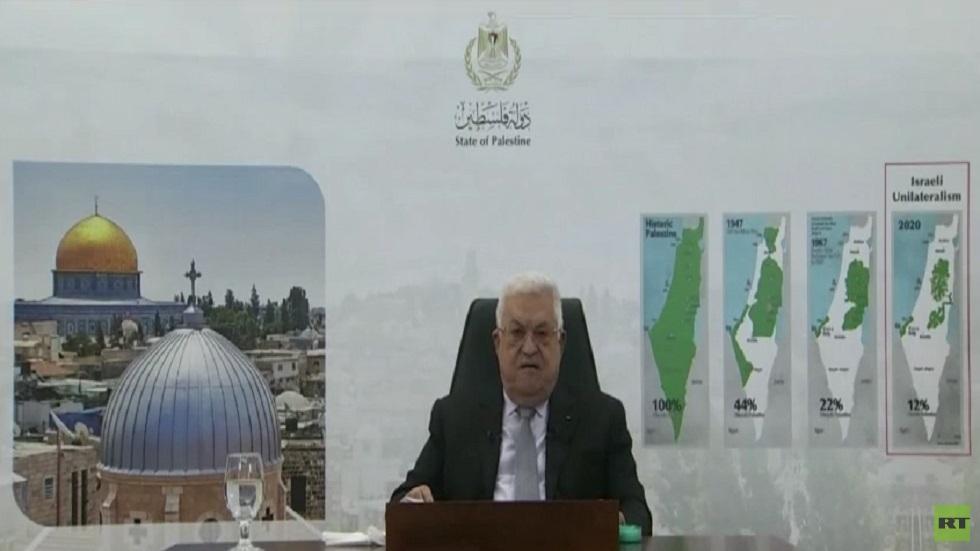 عباس: سنلجأ لبدائل حال تقويض حل الدولتين