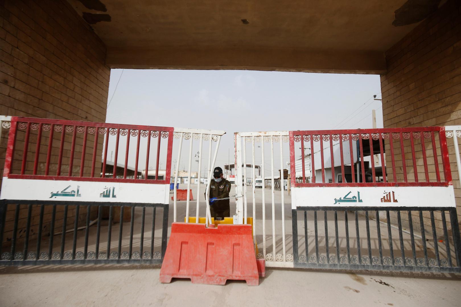مراسلنا: فتح منفذين حدوديين لإدخال الزائرين الإيرانيين إلى العراق