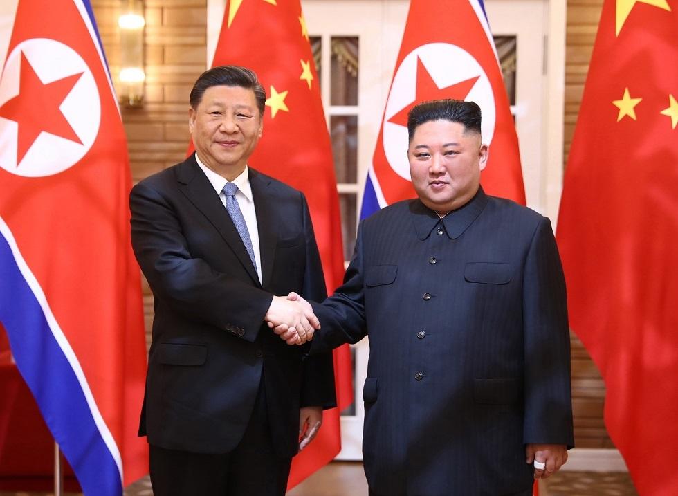 زعيم كوريا الشمالية يشكر الصين على