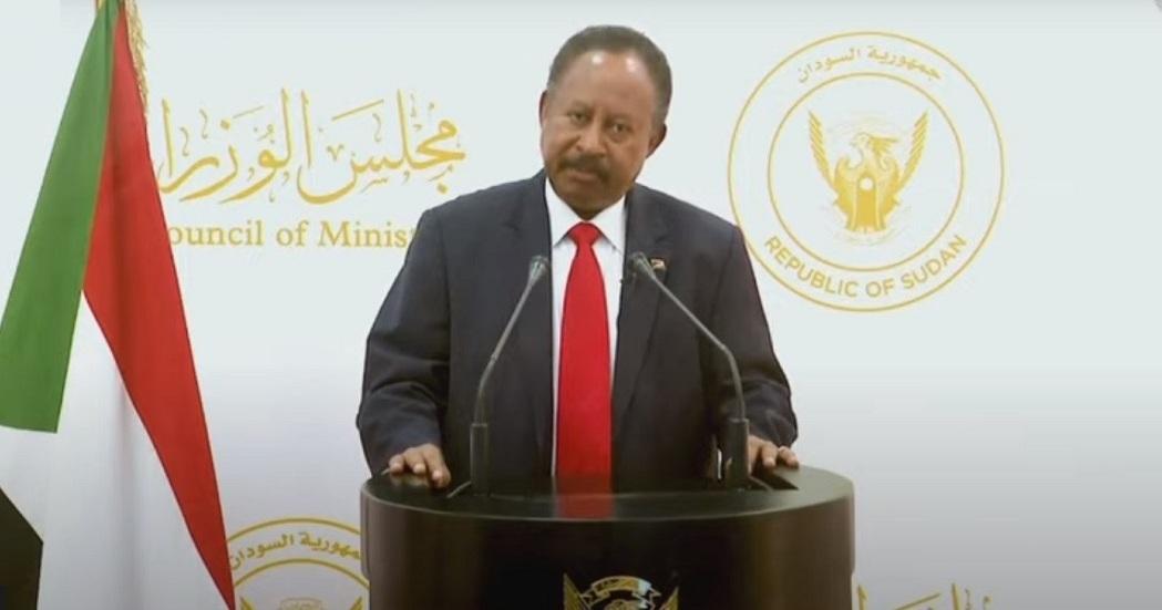 رئيس الوزراء السوداني عبد الله حمدوك