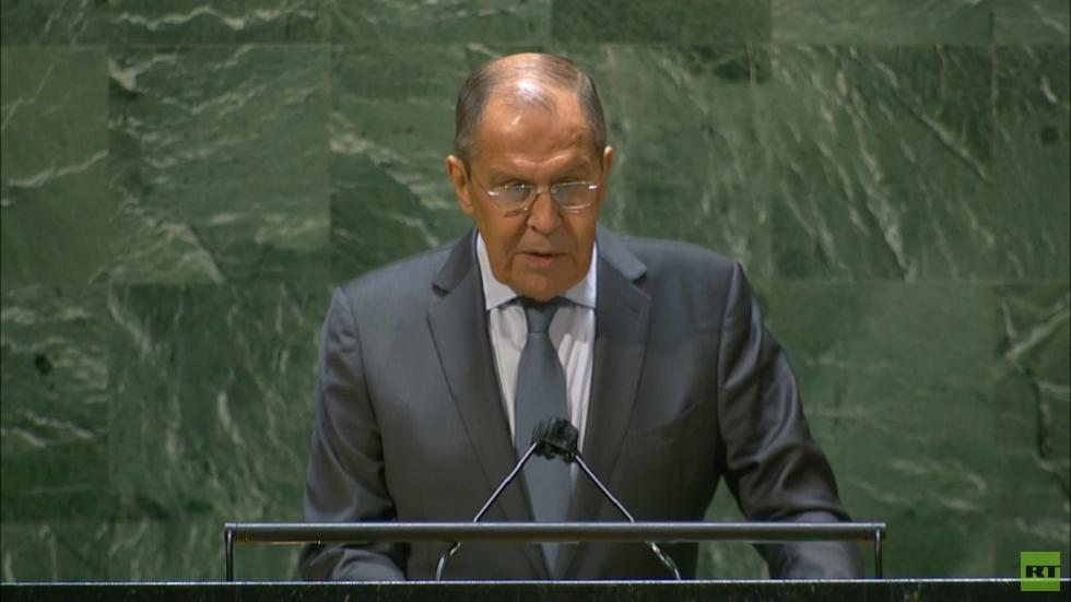 لافروف: دول الغرب نسيت حق تقرير المصير عندما تعلق الأمر بالقرم