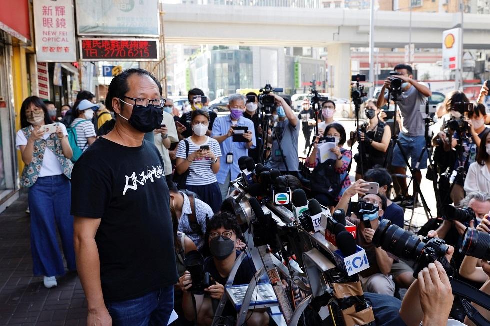 مدافعون عن الديمقراطية في هونغ كونغ يعلنون حل مجموعتهم