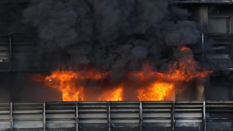 إيطاليا.. اندلاع حريق في مبنى سكني بميلانو