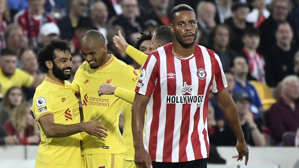 ليفربول ينفرد بالصدارة رغم تعادله مع برينتفورد